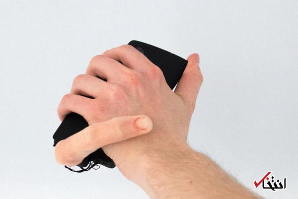 آشنایی با یکی از عجیب ترین لوازم جانبی گوشی های هوشمند ، انگشت روباتیک ویژه کاربران تنبل