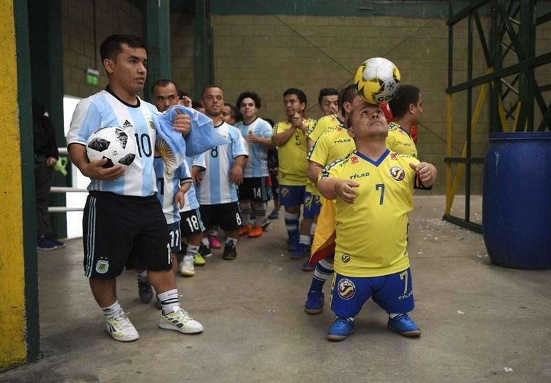 فوتبال دنیا، جام ملت های کوتاه قامتان آمریکا