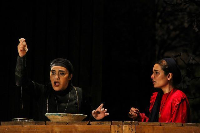 اجرای تئاتری برای سومین بار با حضور رویا نونهالی