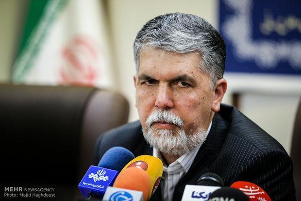 وزیر فرهنگ و ارشاد اسلامی به بافت سفر می نماید