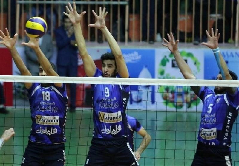والیبال باشگاه های آسیا، شهرداری ورامین به مصاف تایچون بانک می رود