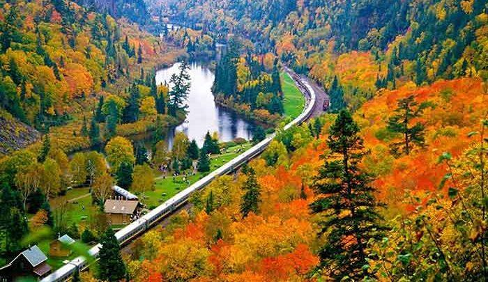 این منطقه زیبا، قلب توریستی-اقتصادی کاناداست ، تصاویر
