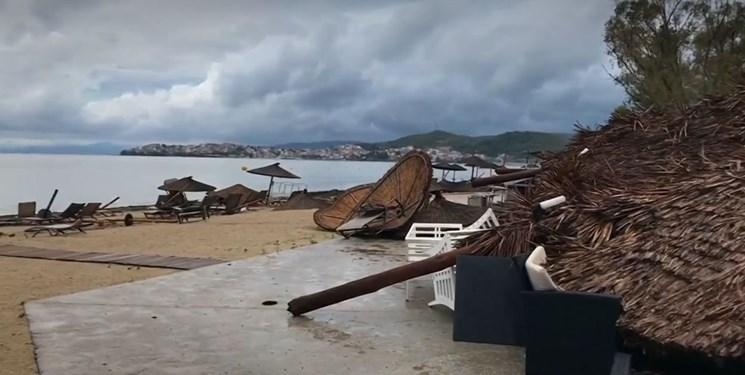 کشته شدن 6 تبعه خارجی در طوفان سهمگین در یونان