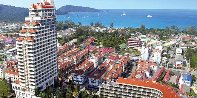 هتل رویال پارادایس پوکت (The Royal Paradise Hotel)