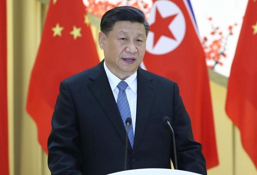 خبرنگاران رییس جمهوری چین: مذاکرات ثمربخشی با کیم داشتم