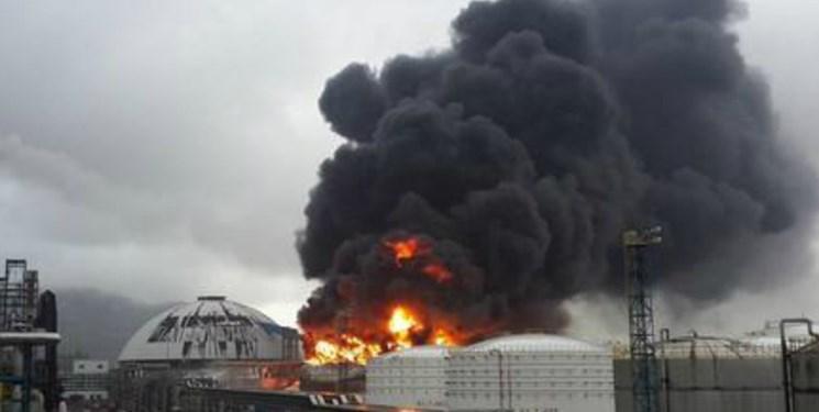 در یکی از تأسیسات گازی مرکز چین انفجاری مهیب به وقوع پیوست