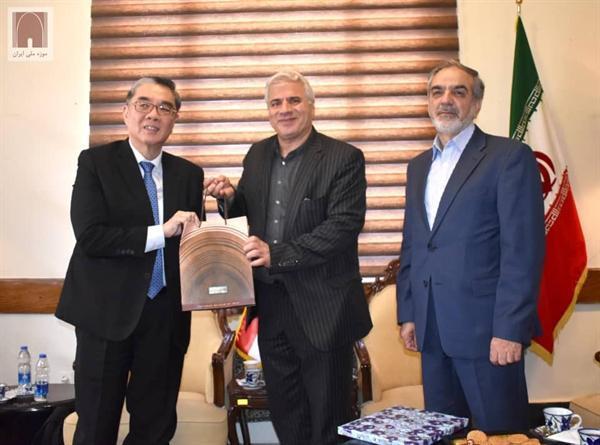 سفیر سنگاپور با معاون میراث فرهنگی کشور دیدار کرد