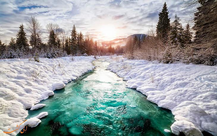 5 جاذبه دیدنی و طبیعی کانادا