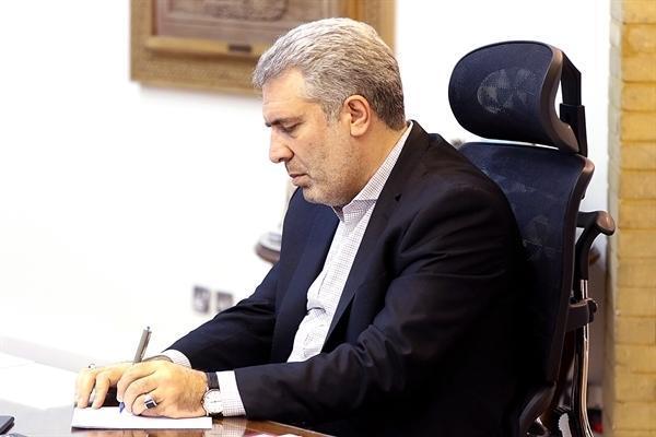 پیغام تسلیت دکتر مونسان به مدیرکل دفتر همکاری و توافق های گردشگری