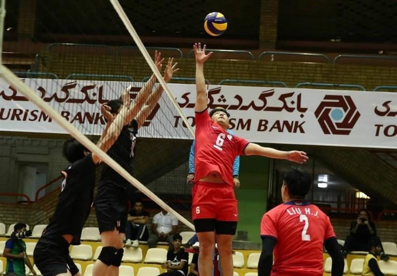 والیبال قهرمانی آسیا، چین تایپه در صندلی پنجم ایستاد، چین باز هم ششم شد