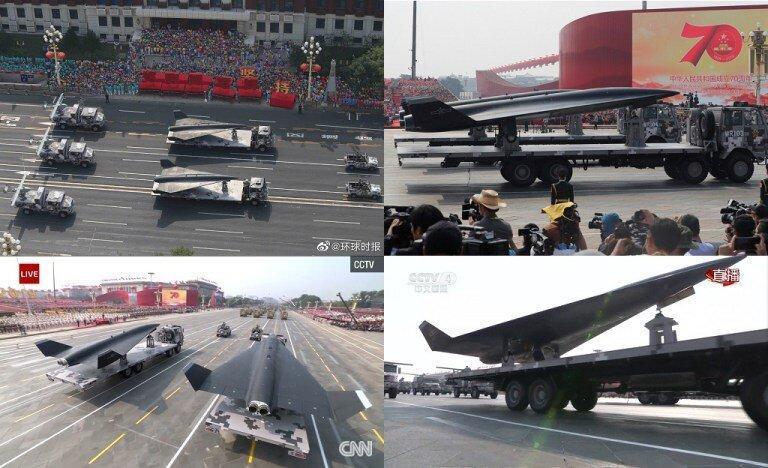 فیلم ، نمایش پهپاد جاسوسی با سرعت فوق صوت چین