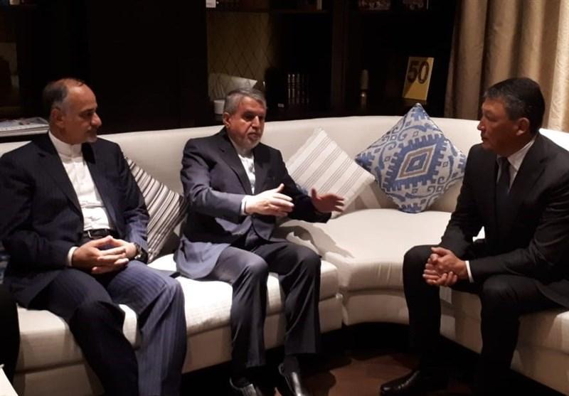 امضا تفاهم نامه همکاری ورزشی بین کمیته های المپیک ایران و قزاقستان، تمایل قرقیزستان از افزایش همکاری ورزشی با ایران
