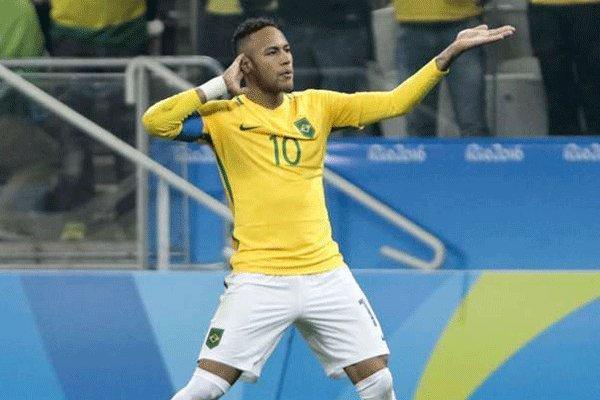 برزیل با گلباران هندوراس فینالیست شد، نیمار سریع ترین گل را زد