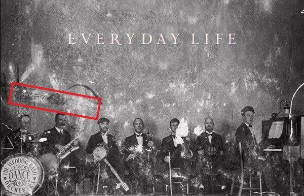 سعدی شیراز در آلبوم موسیقی گروه راک انگلیسی