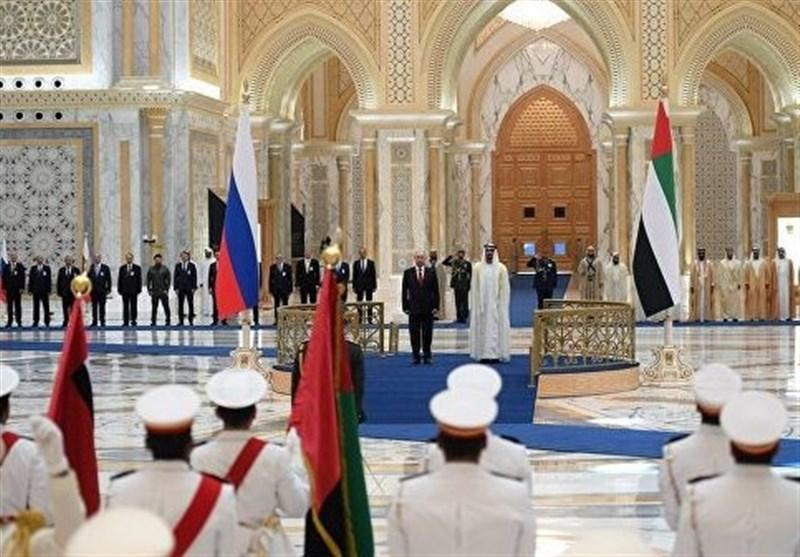 پوتین: مواضع روسیه و امارات در مسائل جهانی و منطقه ای هماهنگ است