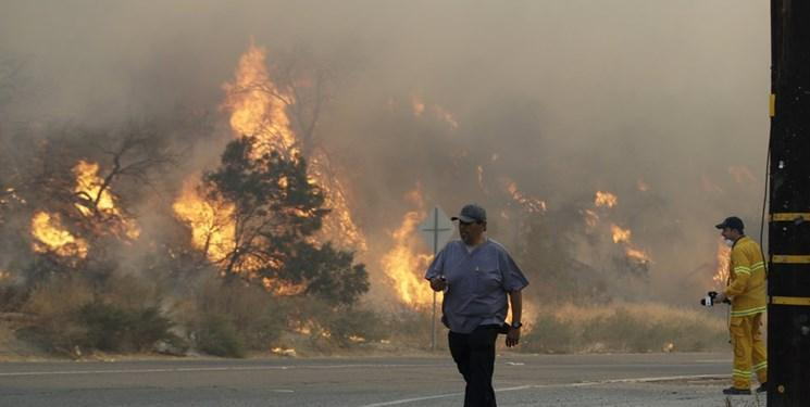 آتش سوزی کالیفرنیا، آماده باش تخلیه منازل به ساکنان مناطق در خطر