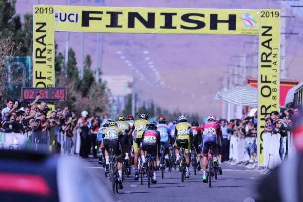 ثبت نمره عالی برای تور دوچرخه سواری ایران - آذربایجان در UCI