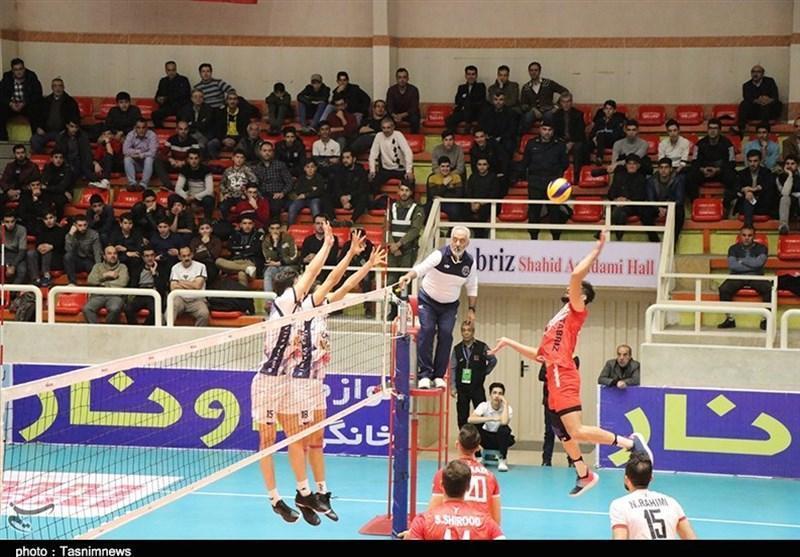لیگ برتر والیبال، پیروزی شهرداری ورامین بر پیکان، شکست دوباره شهرداری ارومیه