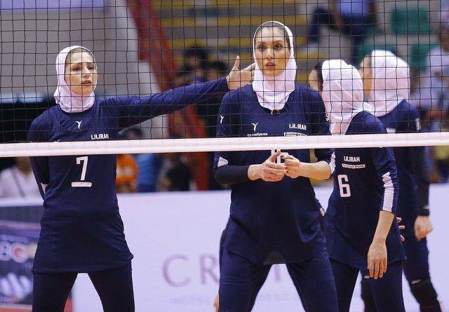 بانوان والیبالیست ایران به نیمه نهایی جام باشگاه های آسیا نرسیدند