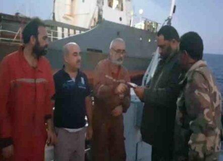 نیروهای شرق لیبی یک کشتی ترکیه ای را توقیف کردند