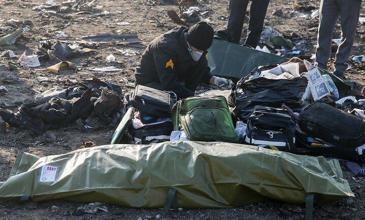 پیکر 61 نفر از جانباختگان هواپیمای اوکراین آماده تحویل به خانواده هایشان