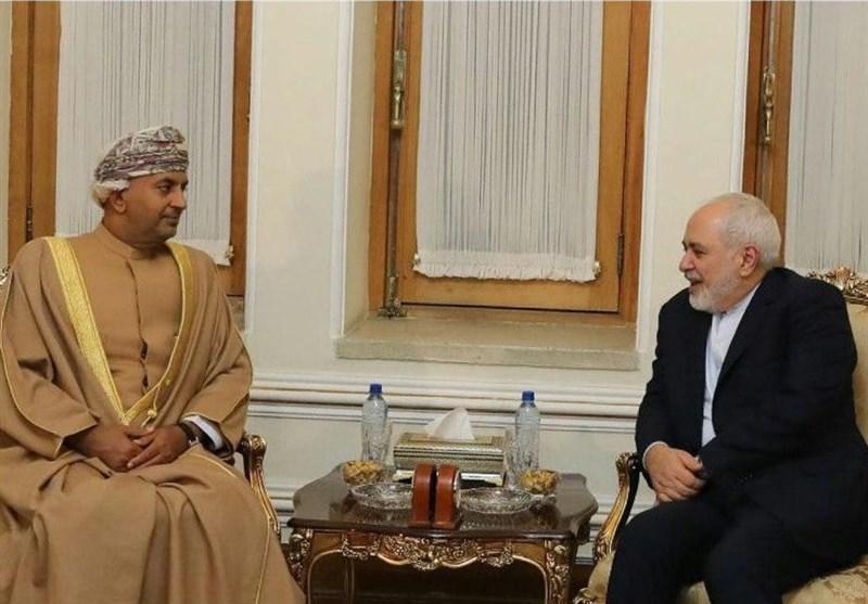 ملاقات وزیر تجارت و صنعت عمان با ظریف