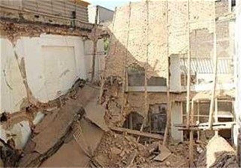 جان باختن 2 کارگر افغانی بر اثر ریزش ساختمان نیمه کاره
