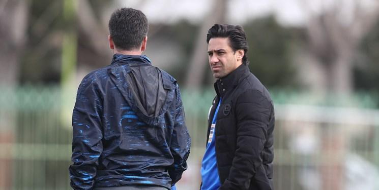 فرهاد مجیدی: امیدوارم هواداران دو تیم از دربی لذت ببرند، بازیکنان دیگر ما جای دیاباته را پر می نمایند