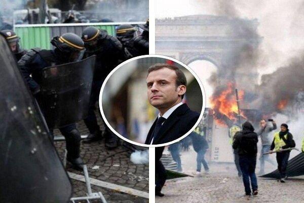 تداوم تظاهرات جلیقه زردها در فرانسه