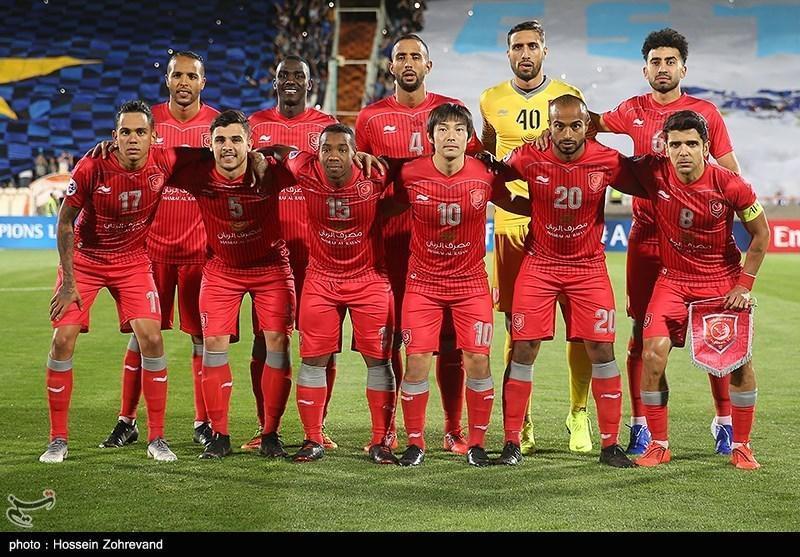 غیبت قطعی 4 مهره کلیدی الدحیل قطر مقابل پرسپولیس