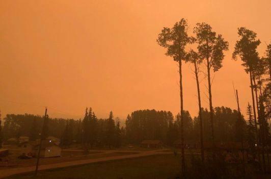 راز غبار آلوده بودن آسمان کانادا چه بود؟