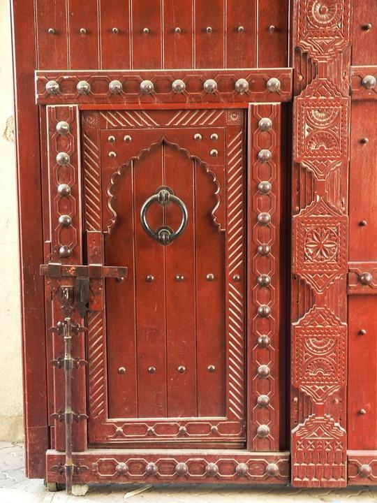 نگاهی به درب های باستانی عمان