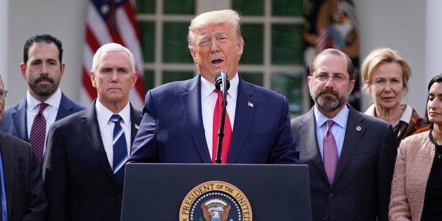 اعلام داروی احتمالی کرونا از طرف ترامپ با وجود هشدار دانشمندان ، ترامپ: این هدیه خداوند است