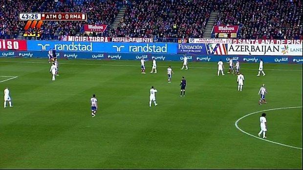 تبلیغ در بازی رئال مادرید به یاری فتوشاپ!