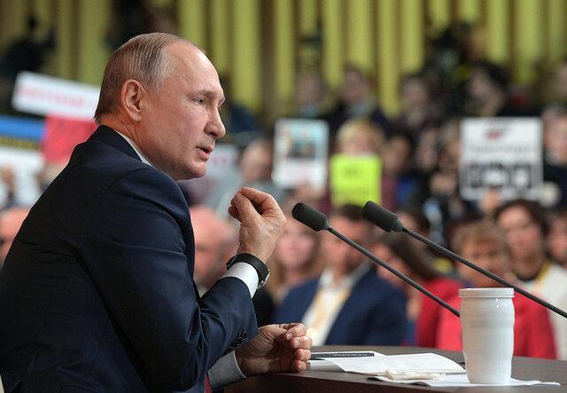 توجه مقام های روسیه به سلامتی پوتین در همه گیری کرونا