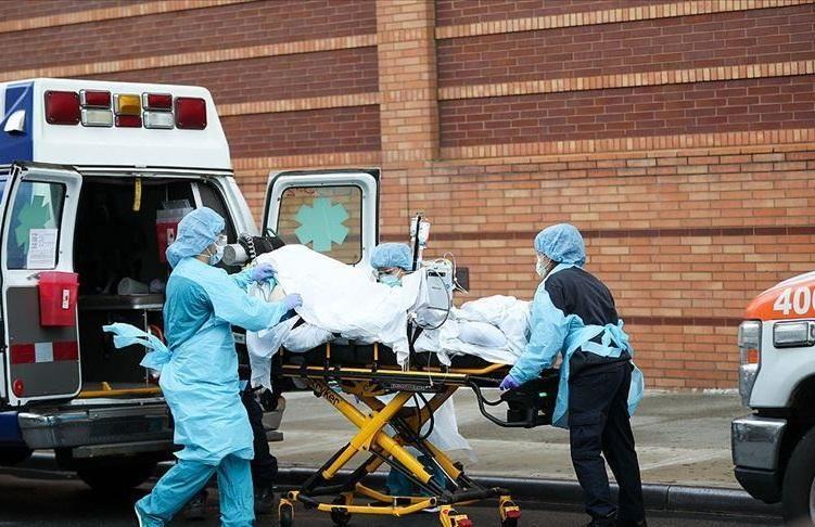 تلفات کرونا در آمریکا 6 رقمی شد