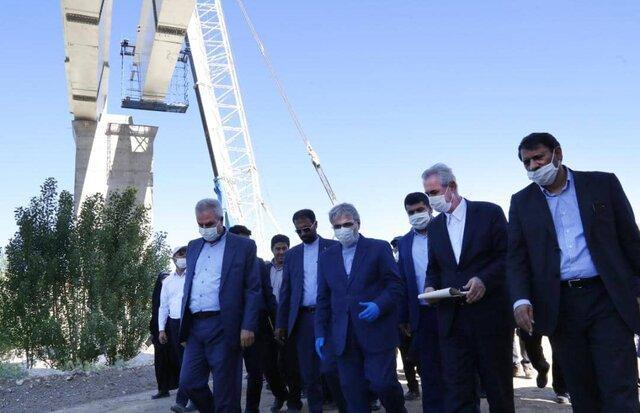 راه آهن میانه-تبریز تا سرانجام امسال تکمیل می گردد