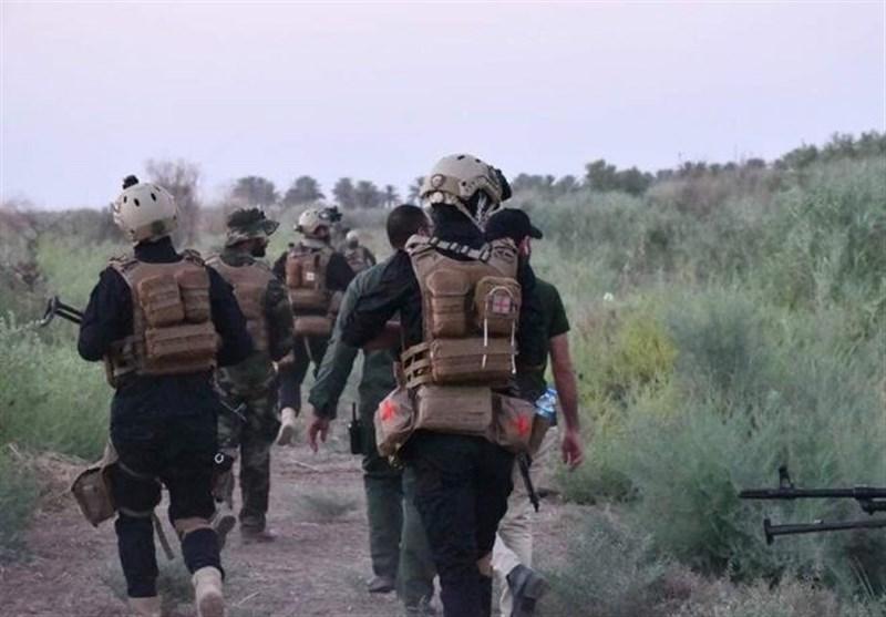 عراق، دستاوردهای امنیتی حشد شعبی در دیالی، کوشش آمریکا برای بازگشت داعش به مناطق آزاد شده