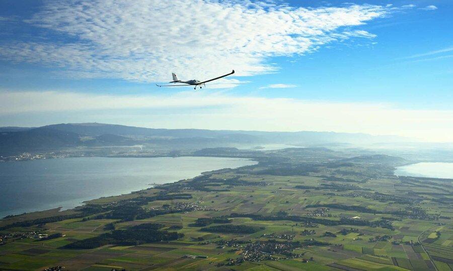 عکس روز ، پرواز هواپیمای خورشیدی