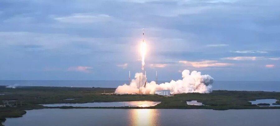 اسپیس ایکس ماهواره رصد زمین آرژانتینی را به فضا فرستاد