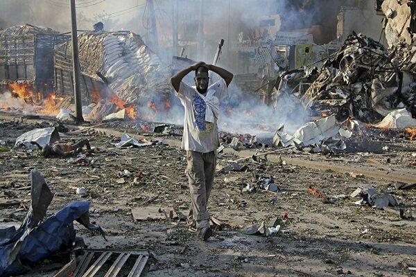 انفجار انتحاری در مقابل مسجدی در سومالی