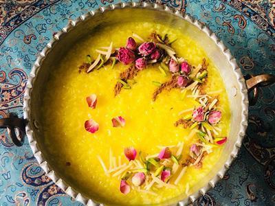 طرز تهیه شله زرد خوشمزه و خوش رنگ با نکاتی ویژه