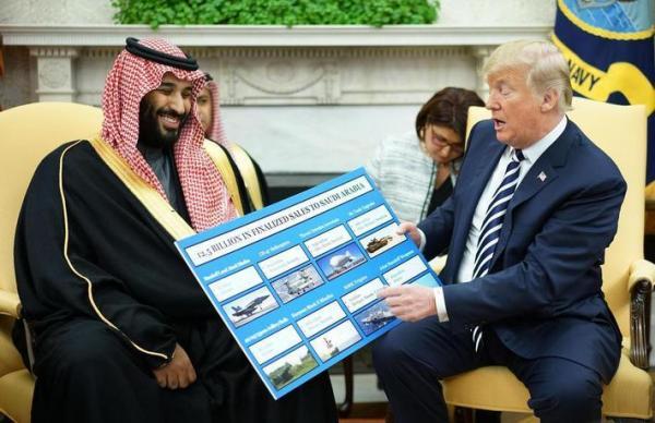 تصمیم ترامپ برای فروش بمب های هدایت شونده به رژیم سعودی