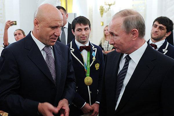 مامیاشویلی به عنوان رئیس فدراسیون کشتی روسیه ابقا شد