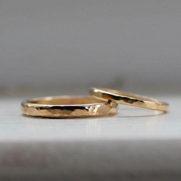 13 مدل حلقه ازدواج ست ساده، شیک و دوست داشتنی