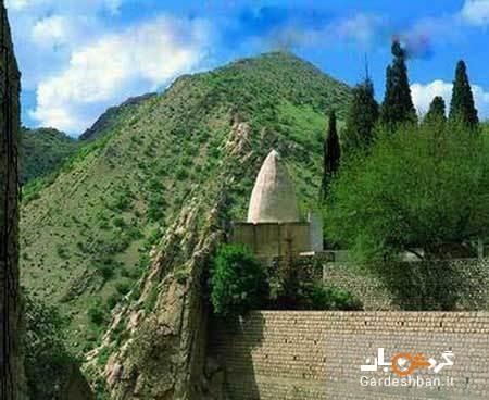 آرامگاه بابایادگار از جاذبه های گردشگری استان کرمانشاه، عکس