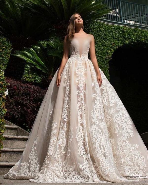 جذاب ترین انواع مدل لباس عروس پرنسسی