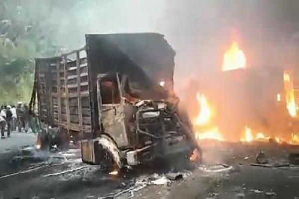 53 نفر در کامرون در آتش سوختند، 29 نفر به شدت زخمی شدند