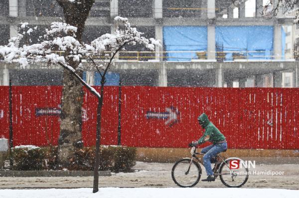 غرب کشور میزبان برف و باران زمستانی