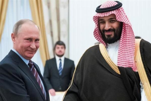 پوتین و بن سلمان درباره سوریه تبادل نظر کردند